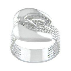 roped buckle ring