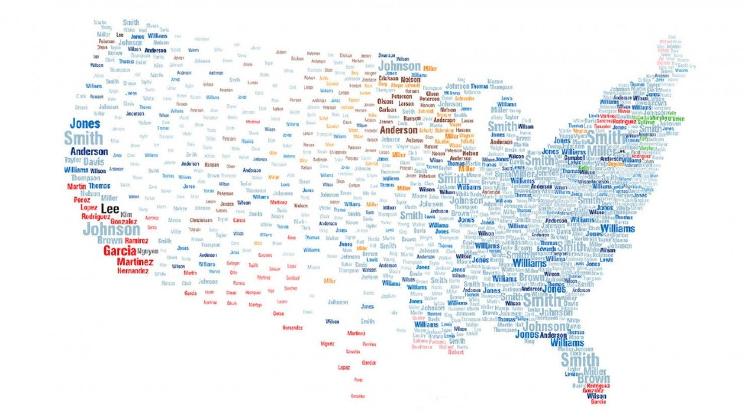 What Your Name Tells Us About Your Age Where You Live Your - Political leanings map us