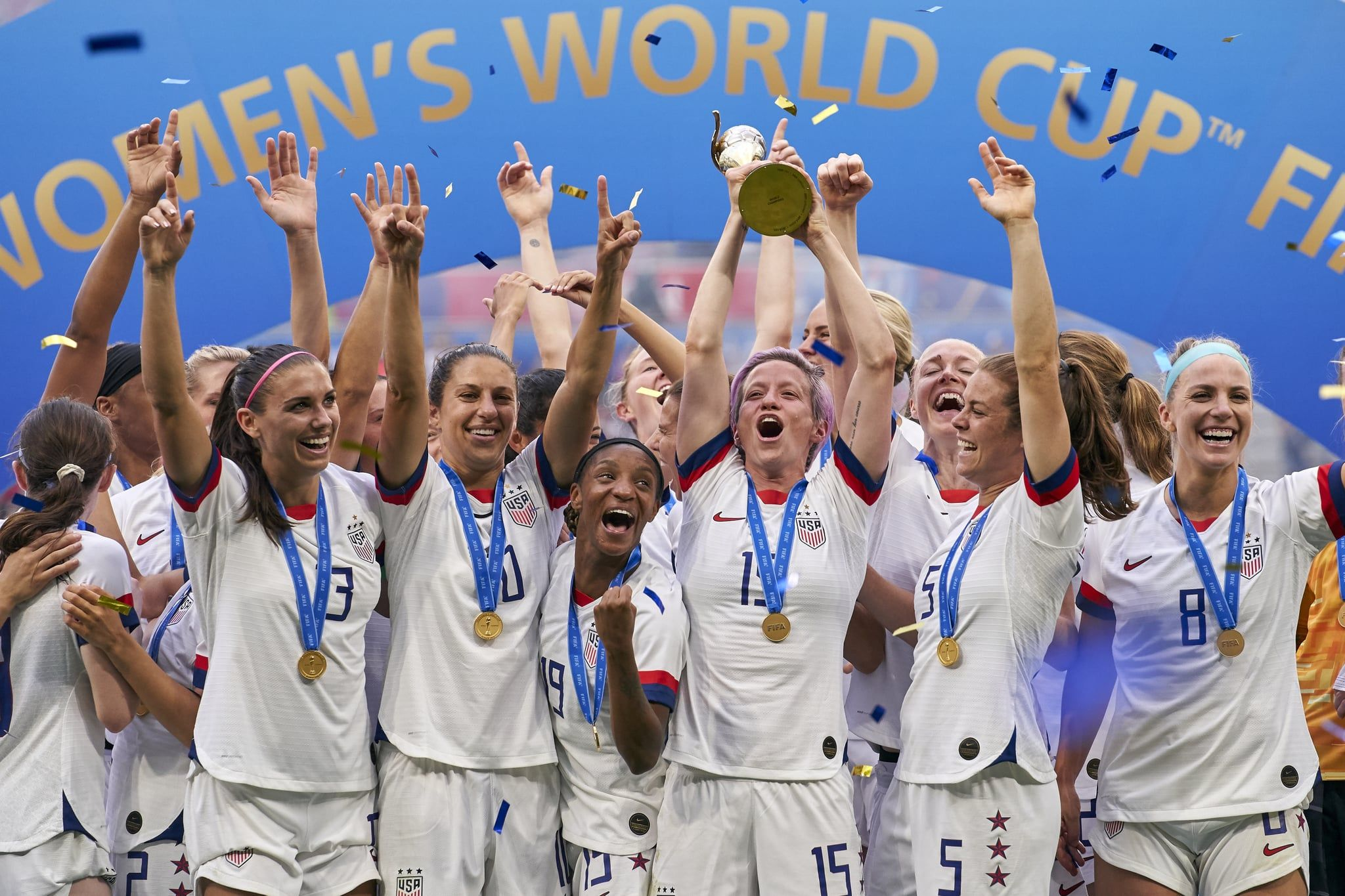 Every Record The Amazing Us Women S Soccer Team Broke At The 2019 World Cup Women S Soccer Team Womens Soccer