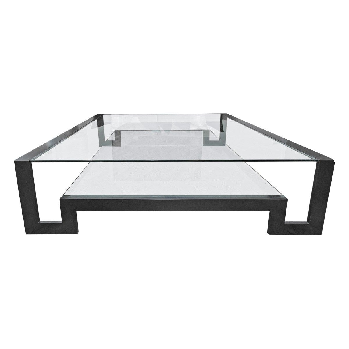 Merveilleux Viyet   Luxury Furniture Consignment   Tables   John Boone Two Tier Coffee  Table