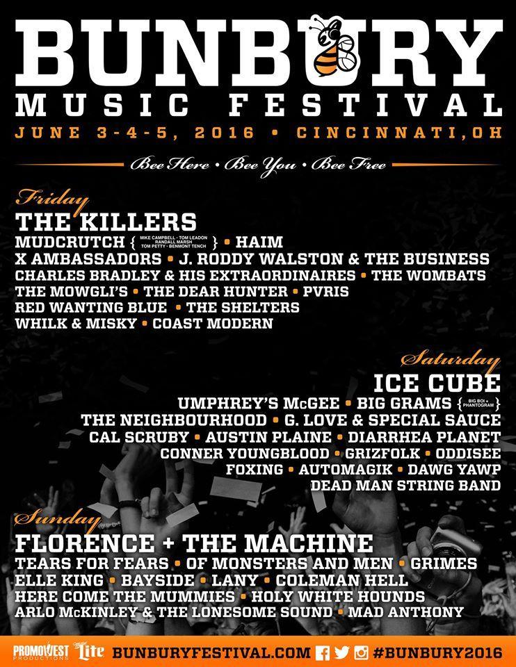 Bunbury Music Festival 2016 Bunbury Music Festival Music Festival Festival