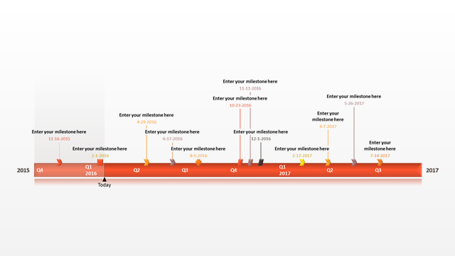 Sample Timeline For Powerpoint  Free Timeline Templates  The One