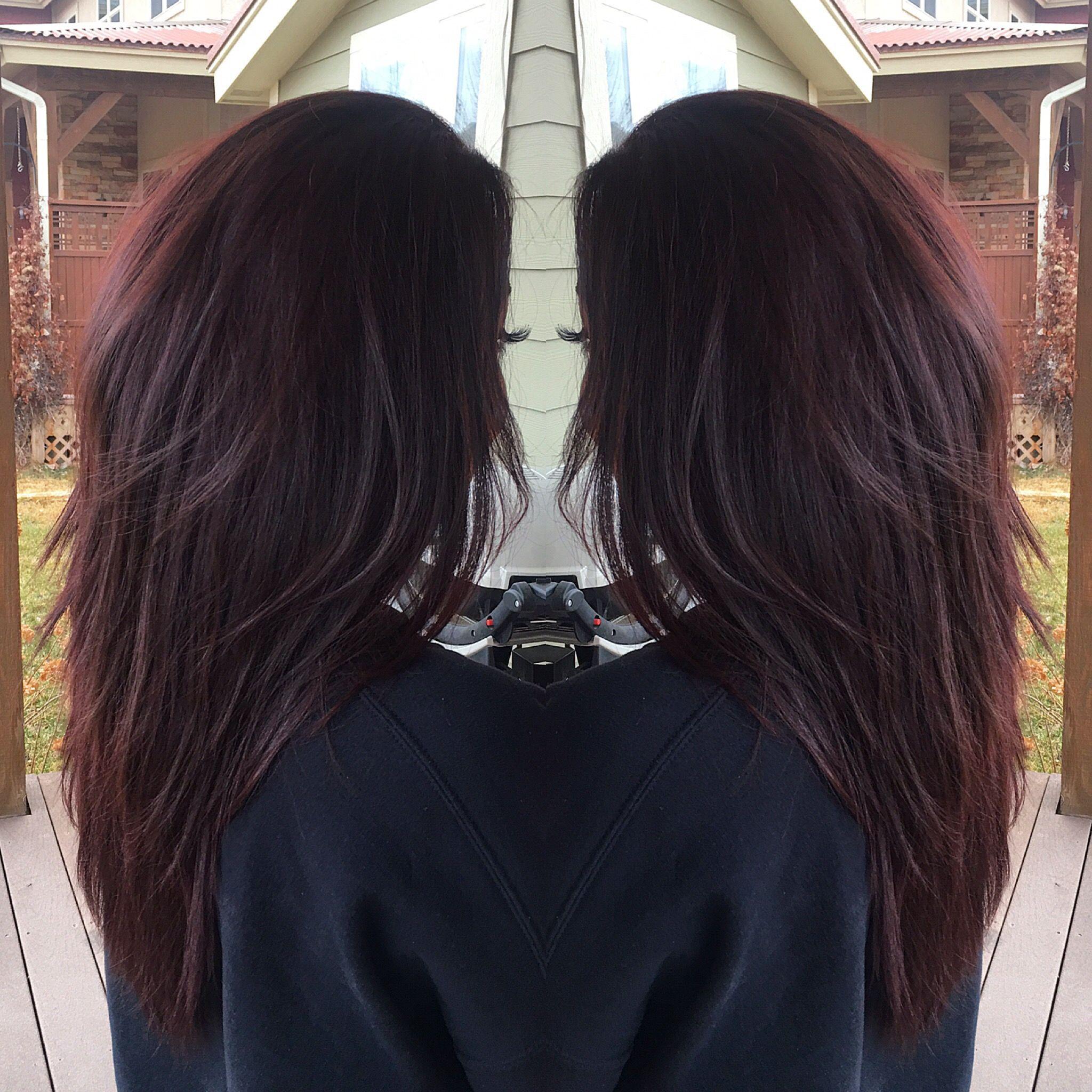 50 Gorgeous Mahogany Hairstyles: Hair Color Ideas | Mahogany Hair