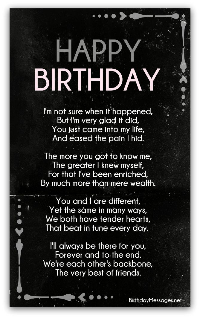 Clever Birthday Poems Page 2 (With images) Birthday