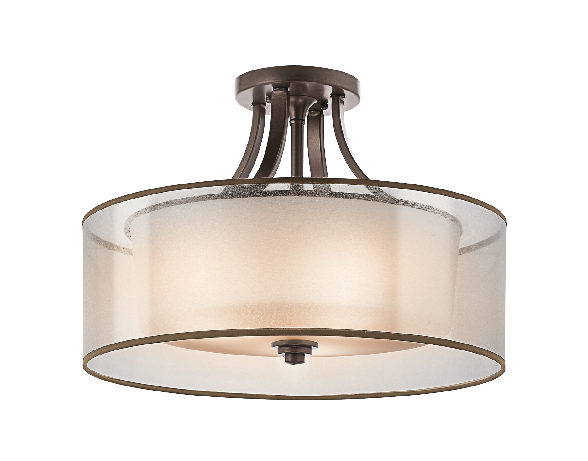 Lacey 4 Light Semi Flush Ceiling Light MIZ