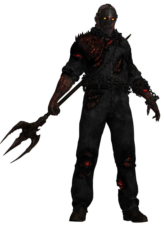 Jason Burning Jason Friday The 13th Jason Voorhees