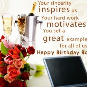 Happy Birthday Quotes for the Boss | yshi first birthday | Happy