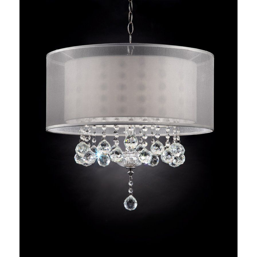 Moie 3 Light Drum Chandelier