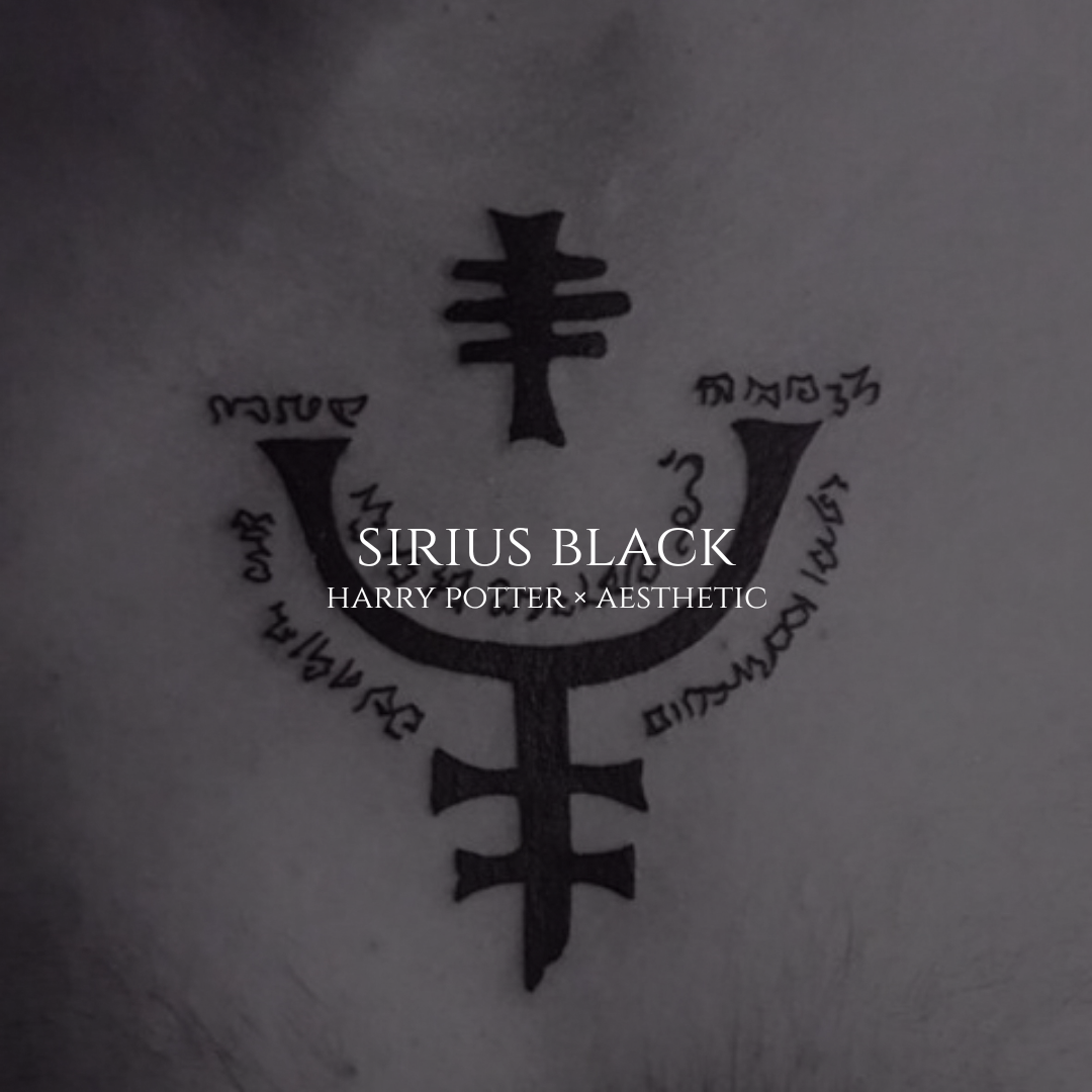 Chest sirius tattoo meaning black [Harry Potter