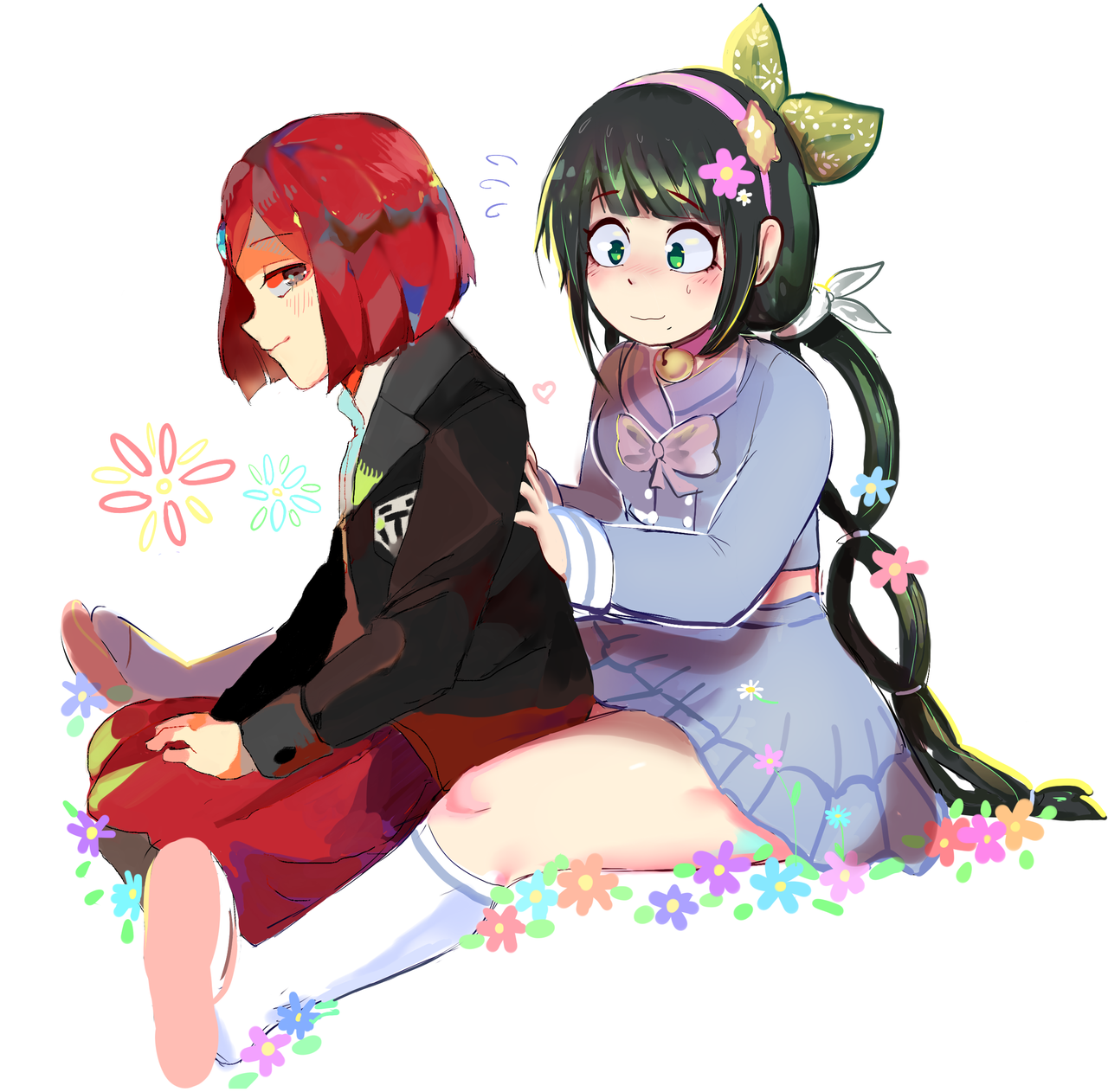 """dunkinrunkin """"collab with critai !! two very good gals"""