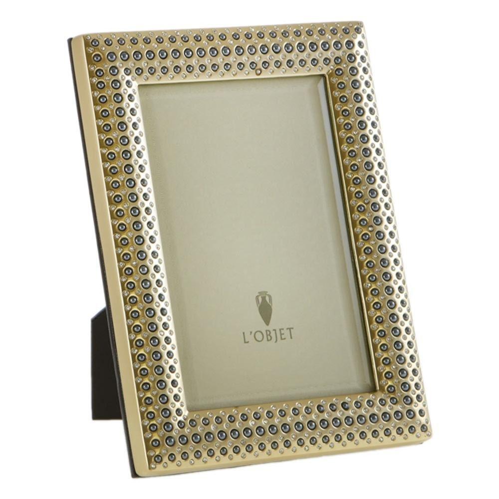 Perlee Frame Gold Plated 4x6 From L Objet Frame L Objet Trophy Design