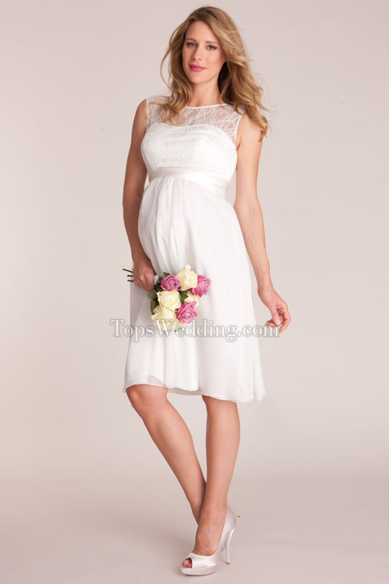 Maternity dresses for weddings  Pin by Once Upon a Wedding on Maternity Wedding Gowns  Pinterest