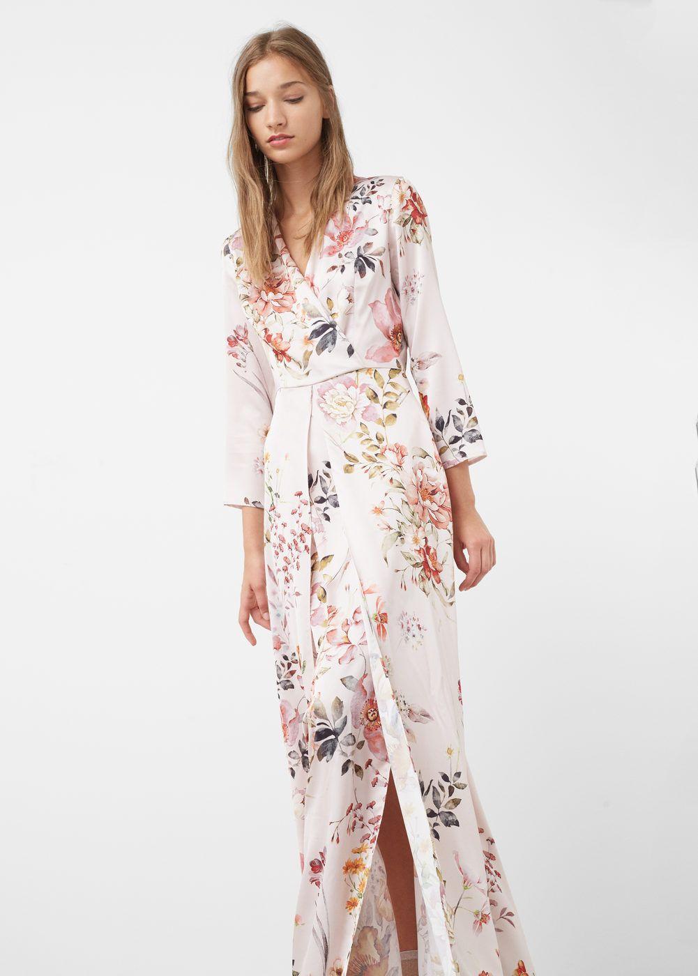 Fashion Moda Penélope Cruz In Vogue June Issue: Vestido Comprido Floral - Mulher Em 2019