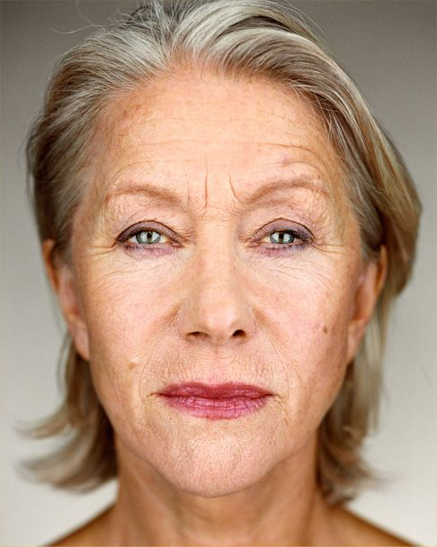 """We have to let go of this crap. It creates even more pressure on women and I certainly don't want to be a part of that... I'm not beautiful. I clean up nice... But the fact that I look good at the age I am is bloody irrelevant"" - Helen Mirren"