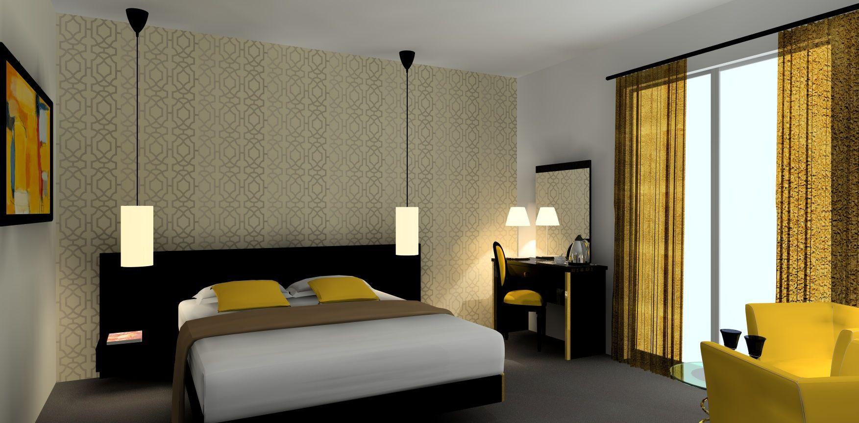 Simulation 3d Chambre D Hotel Marion Tournadre Decoratrice D