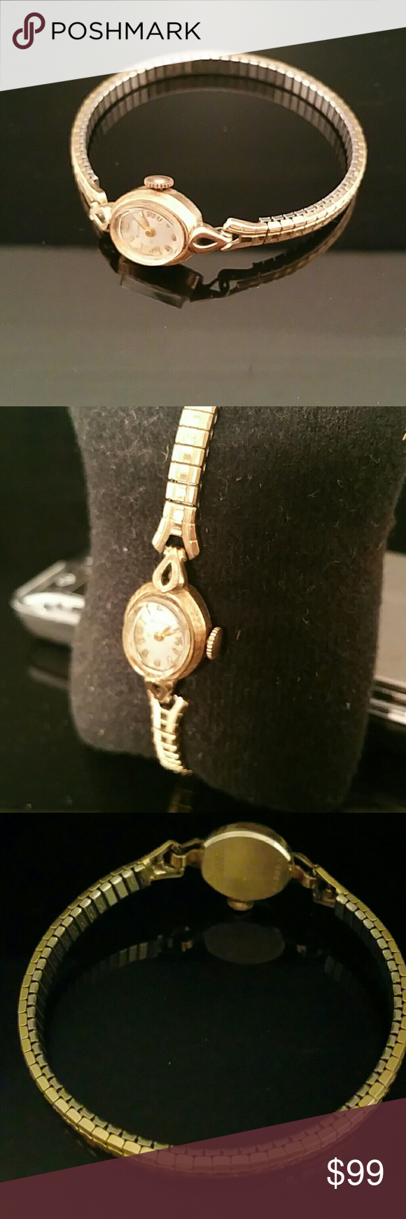Vintage Women S Bulova 10k Gold Filled Wrist Watch Vintage Ladies 10k Gold Wrist Watch