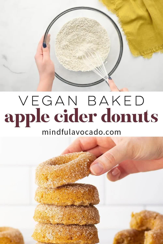 Vegan Apple Cider Donuts Video In 2020
