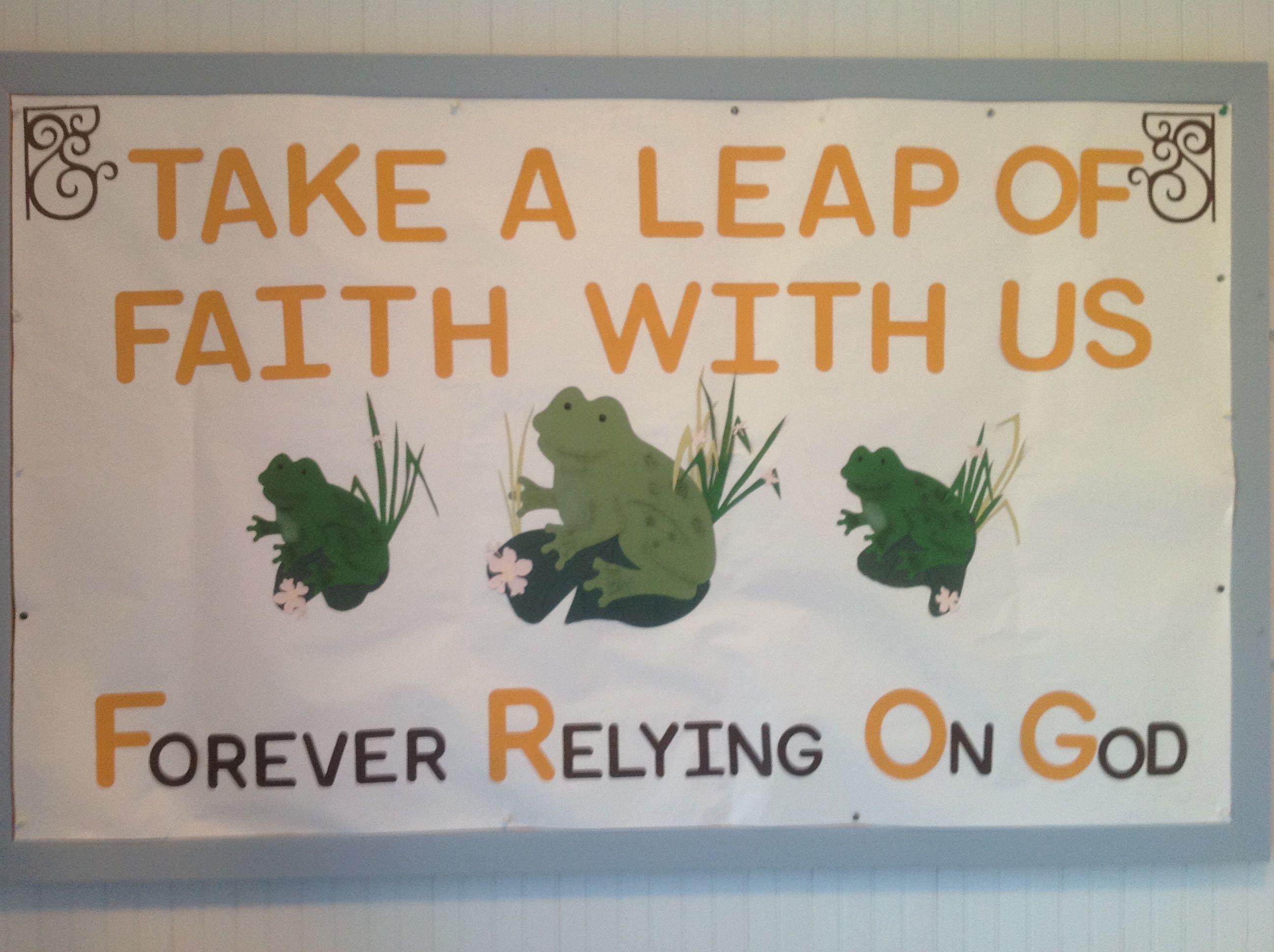 Frog Forever Relying On God Frog Crafts Childrens Devotionals Frog Theme