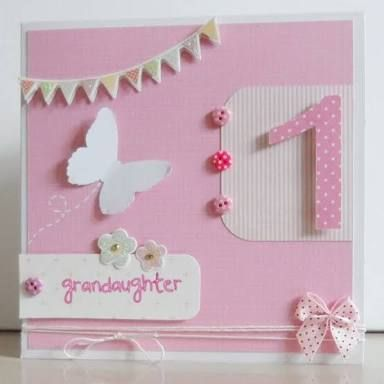 Image Result For First Birthday Cards For Girls Birthday Cards