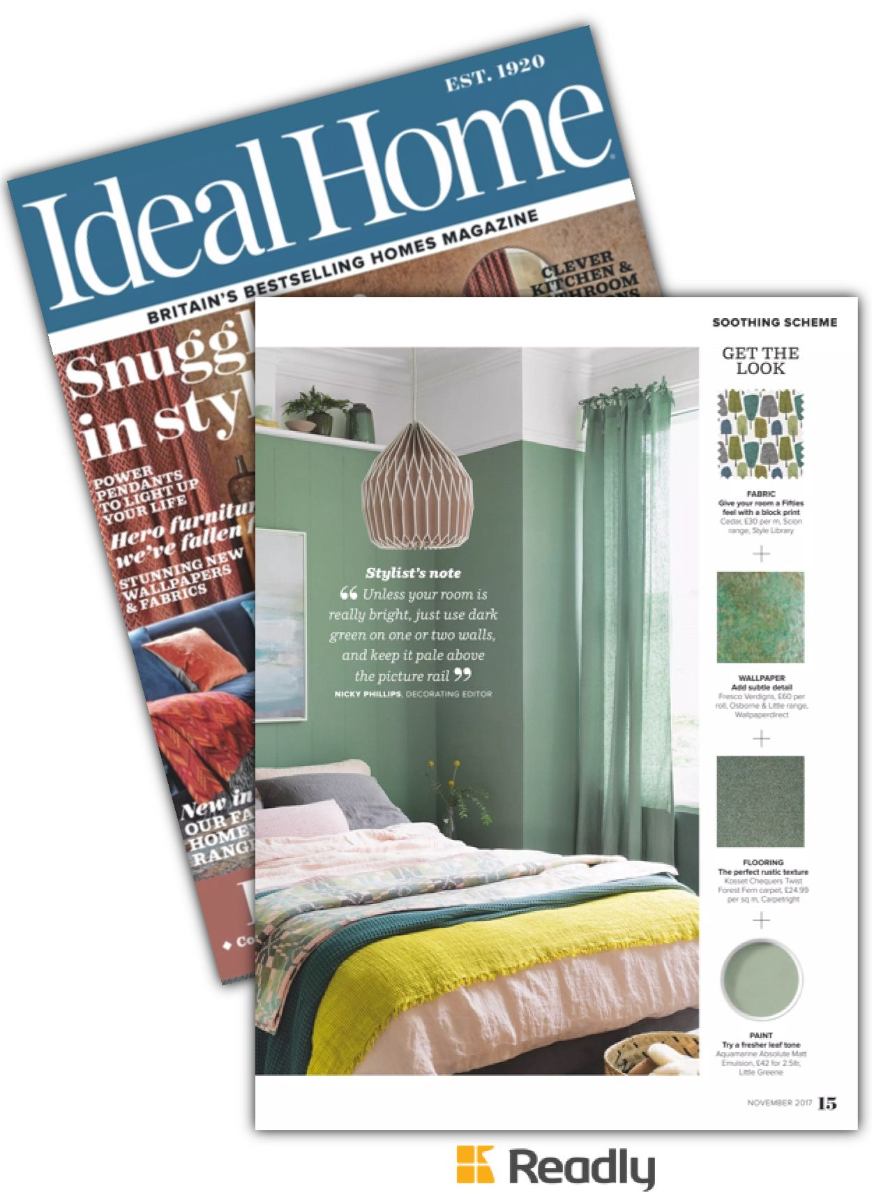 Suggestion about ideal home nov page spare room