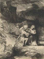 New Testament Art - The Agony in the garden by Rembrandt