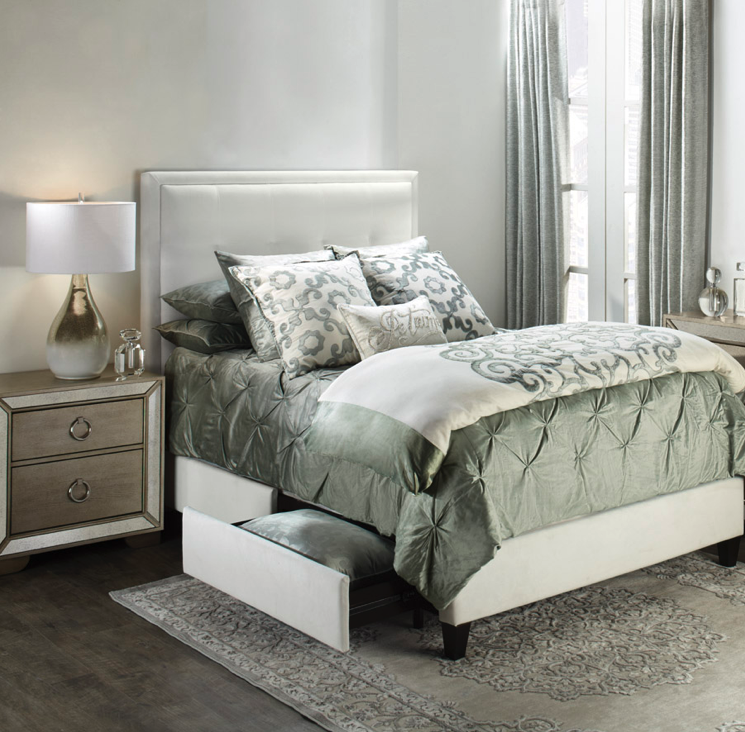 Get The Glam Look Amora And Avignon Bedding In New Softly Romantic Amazing Avignon Bedroom Furniture Decor