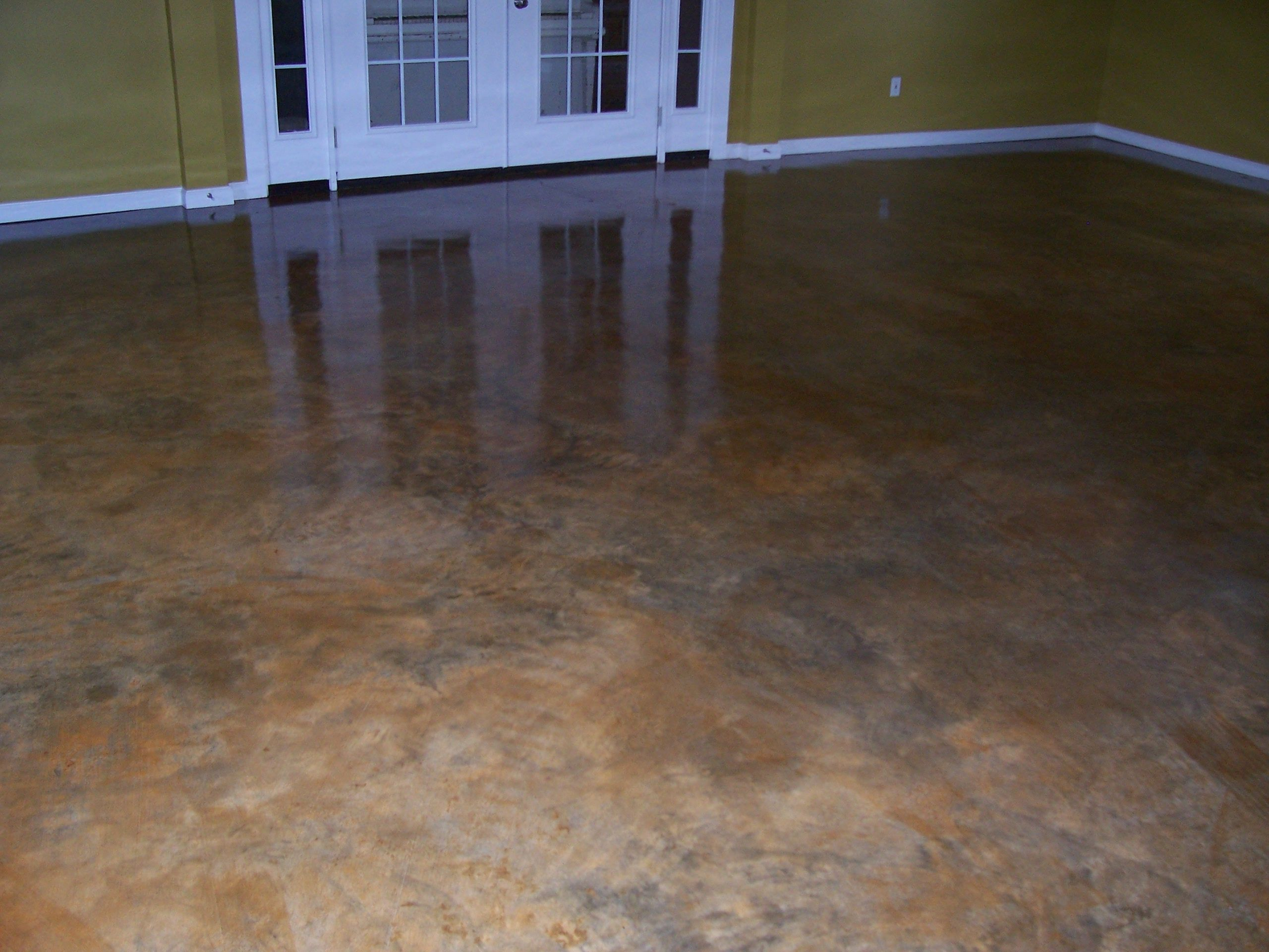 concrete staining let Craig turn your dull floor into a master piece