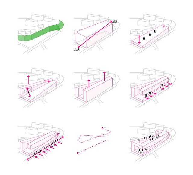 Cuhk Concept About The Shape Architectural Diagrams