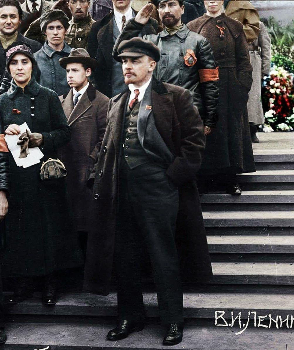 Lenin observing   In soviet russia, Russian revolution ...