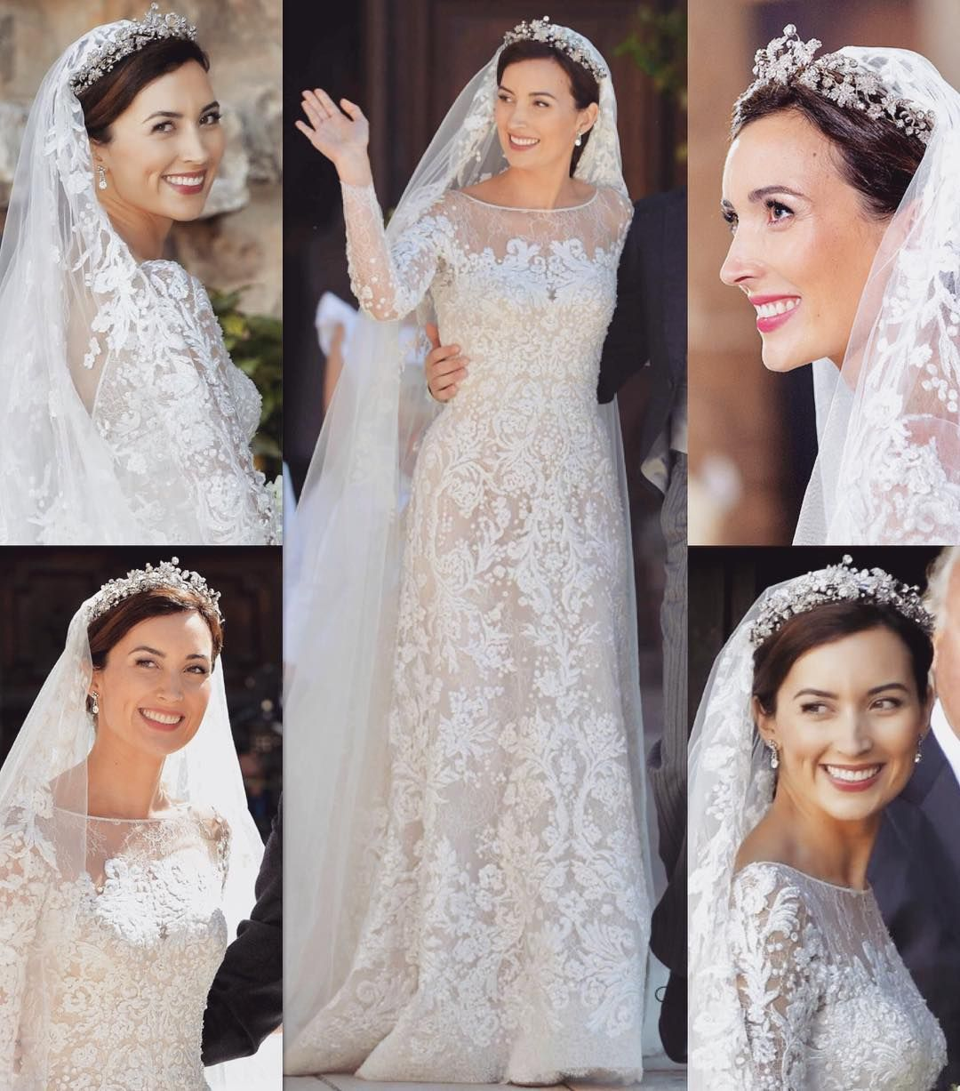 Do You Like This Wedding Dress This Gorgeous Wedding Dress Is Worn By Princess Claire O Gorgeous Wedding Dress Wedding Dresses Wedding Dresses Romantic [ 1227 x 1080 Pixel ]
