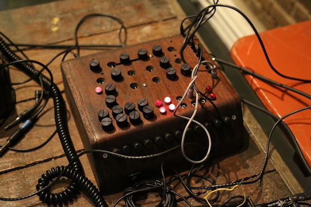 Techno DJ and recording artist Antenes talks about her telephone-based modular synthesizer, The Exchange.