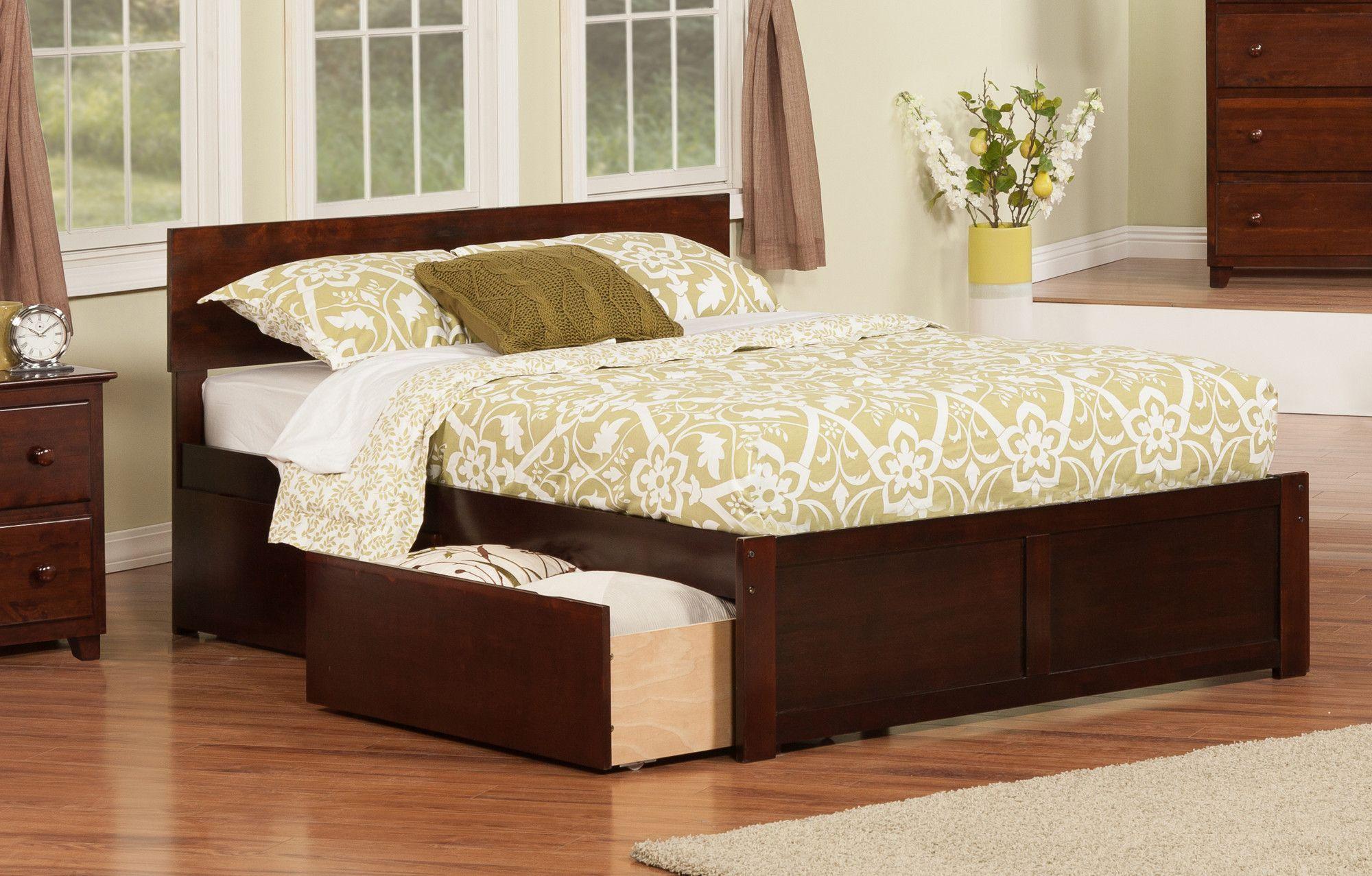 Urban Lifestyle Panel Bed with Storage Bedroom panel