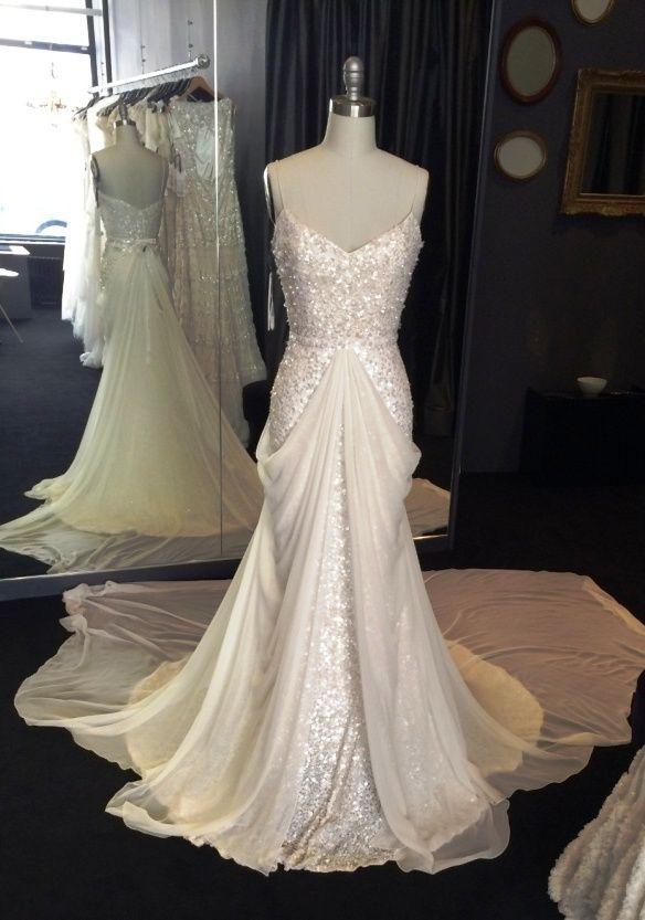 Karen Willis Holmes Wedding Dresses New York Bridal Boutique Wedding Dresses Beaded Wedding Dresses Vintage Wedding Dress Romantic