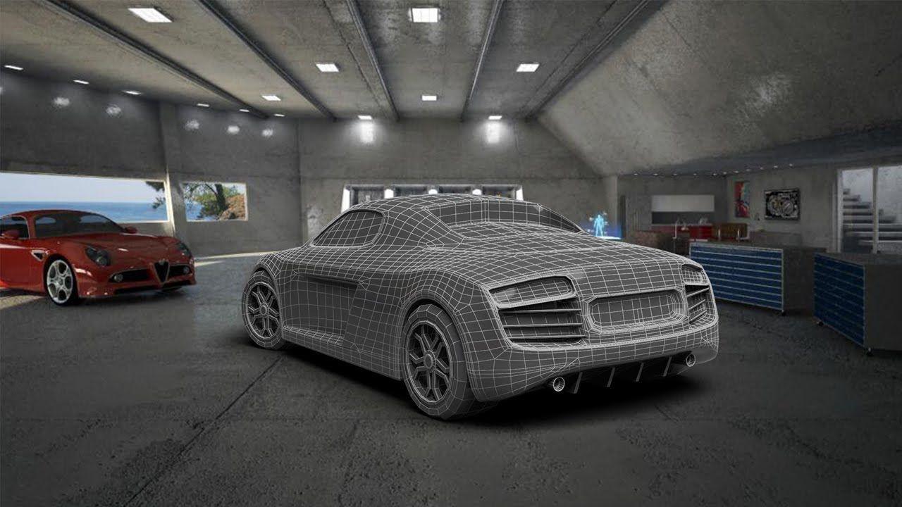 Modeling Audi body 3DS Max beginner tutorial in 2019 | 3Ds