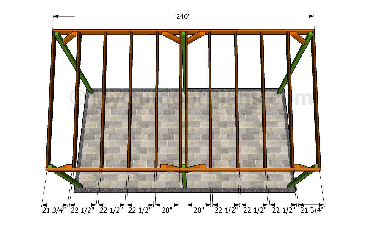Fitting the rafters Wooden carports, Carport plans