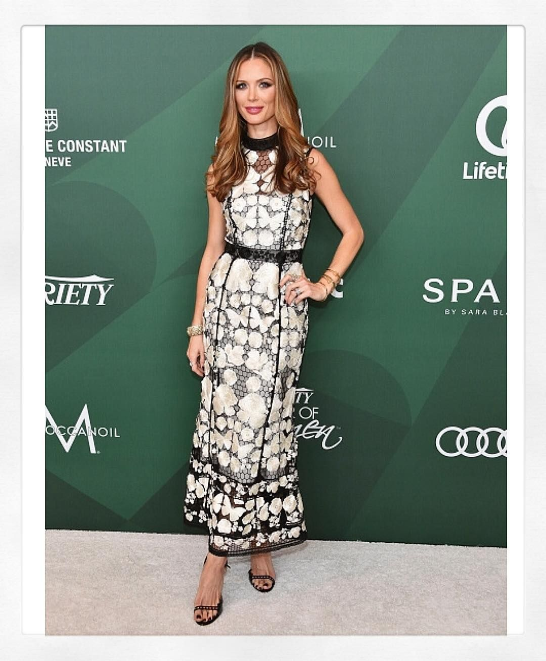 Power Of Women. X Congrats to our girl @georginachapmanmarchesa on being honored with the @moroccanoil Inspiration to Action Award at the @variety Power Of Women Luncheon! #marchesa #powerofwomen @kerencraigmarchesa