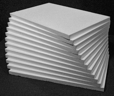 Construction foam 1 sheets 12 sheets of 1 x 14 x 22 inch for Foam sheet christmas crafts