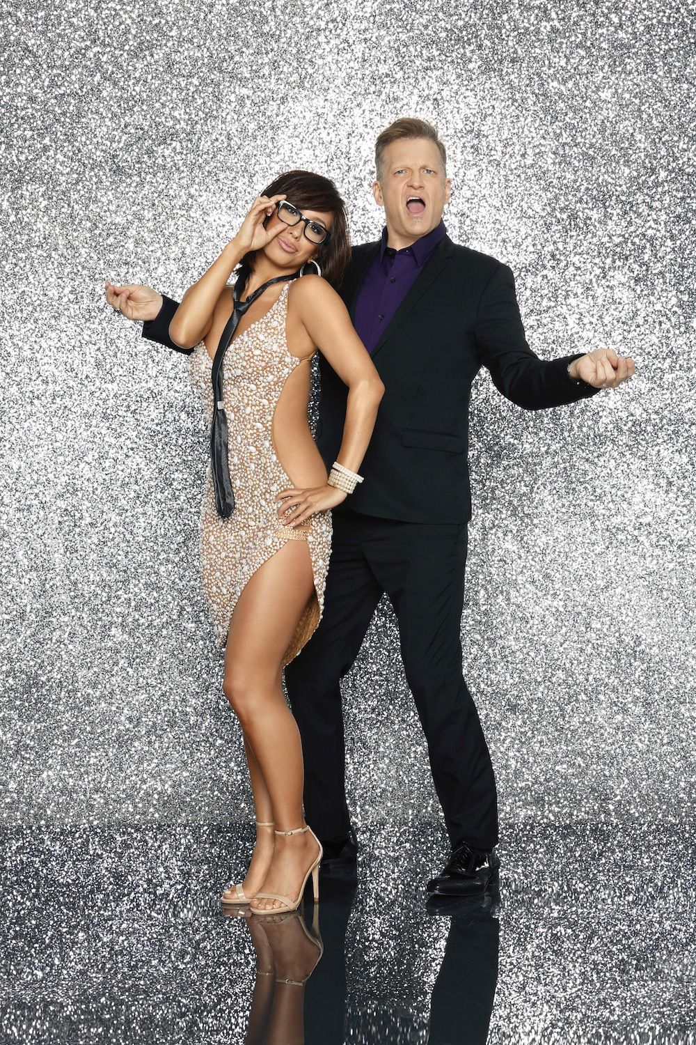 Drew Carey and Cheryl Burke Dancing Partners on DWTS18!