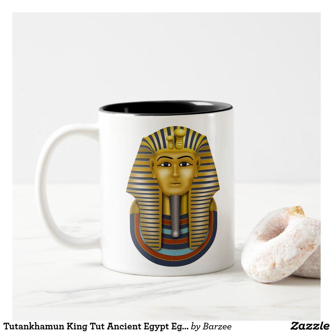 Tutankhamun King Tut Ancient Egypt Egyptian Two Tone