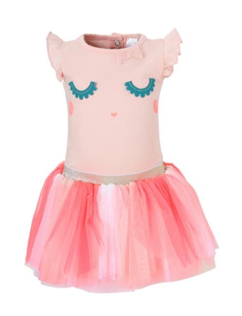 0aab7d0d89d196 C A jurk  roze  tule  meisje  jurk  outfit  baby  babykleding