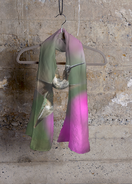 Cashmere Silk Scarf - Floral Fire by VIDA VIDA F8SeJf