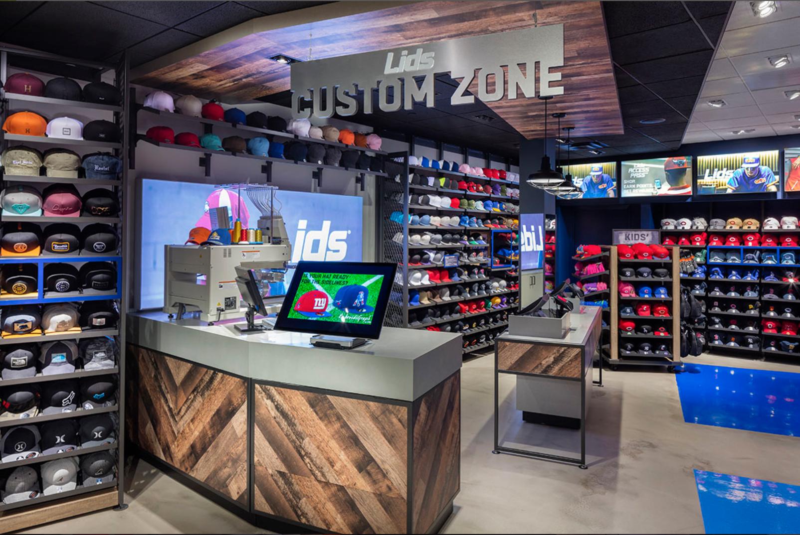 Lids Sports Group Retail Displays Retail Fixtures Retail Display Retail Design