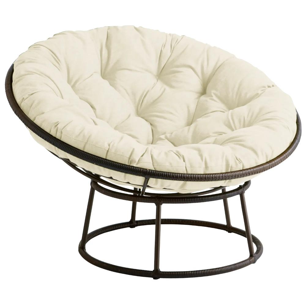 Outdoor Mocha Papasan Chair Frame | Papasan chair, Circle ...