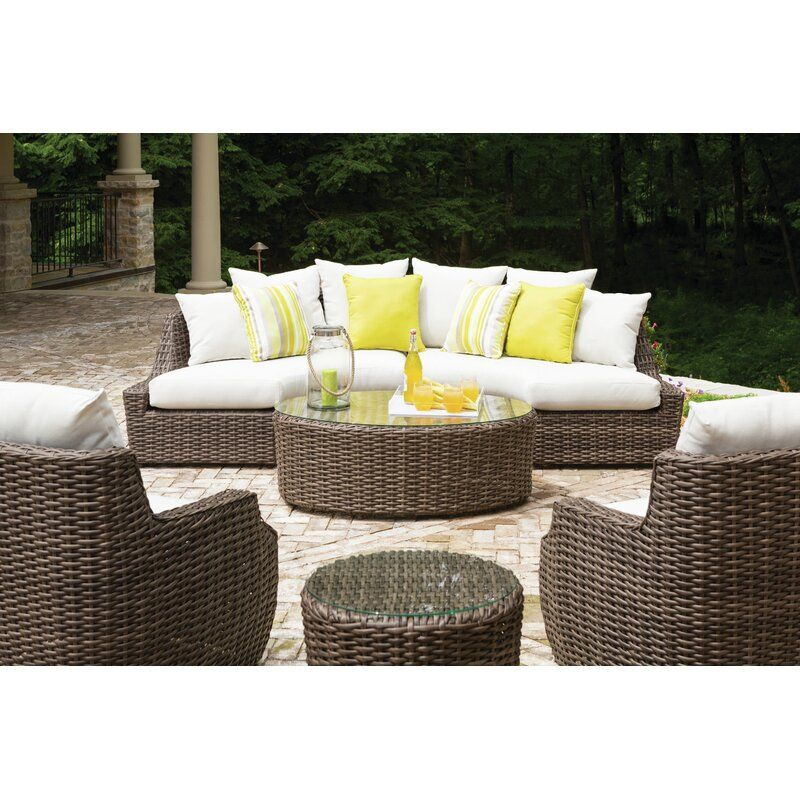 Lloyd Flanders Largo Seating Group With Cushion Perigold Comfortable Patio Furniture Outdoor Sofa Sets Outdoor Furniture Sets