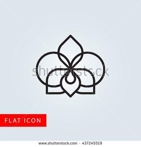 Imagen Relacionada Orchids Orchid Flower Flower Logo