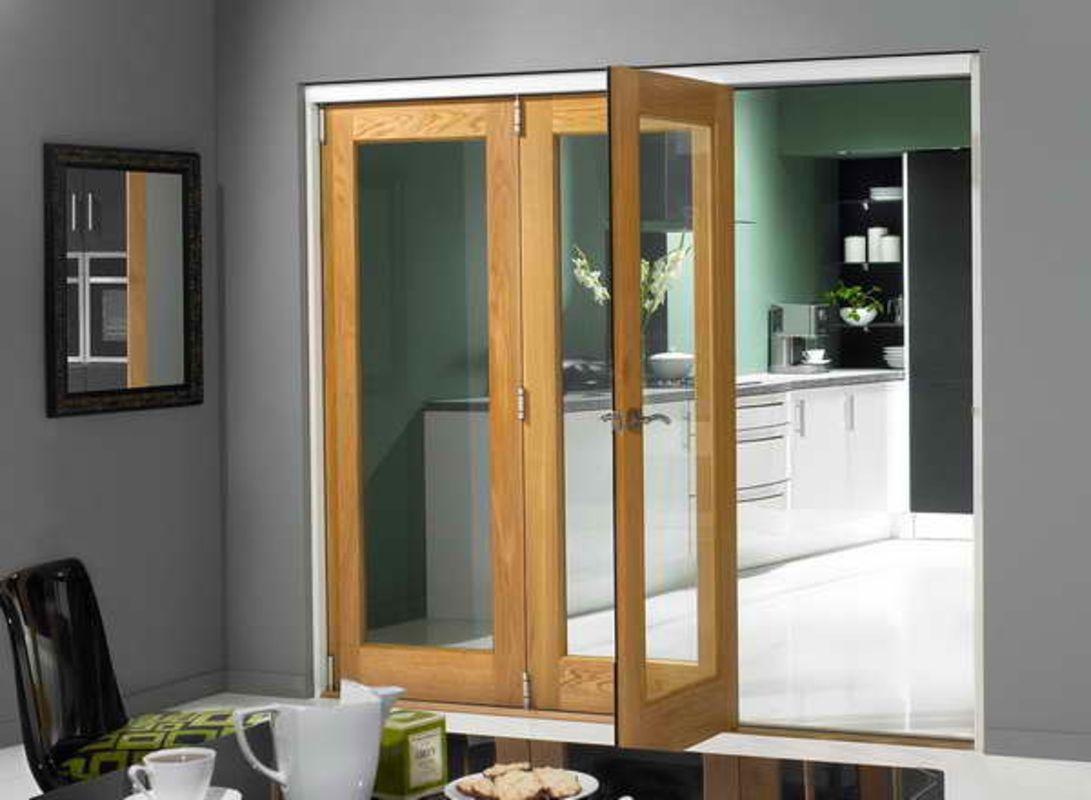 Tri Fold Doors With Mirror Frame Kitchen Pinterest Tri Fold