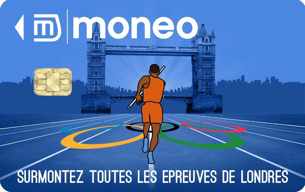 Carte Collector JO 2012 en vente sur la boutique Moneo Je kiffe Monéo !!!! On peut charger Monéo sur internet et ça, c'est vraiment formidable !!!