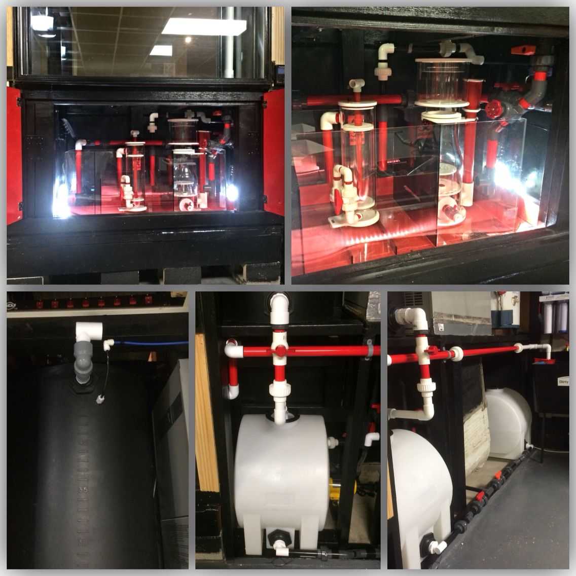 Automatic water change system aquarium systems