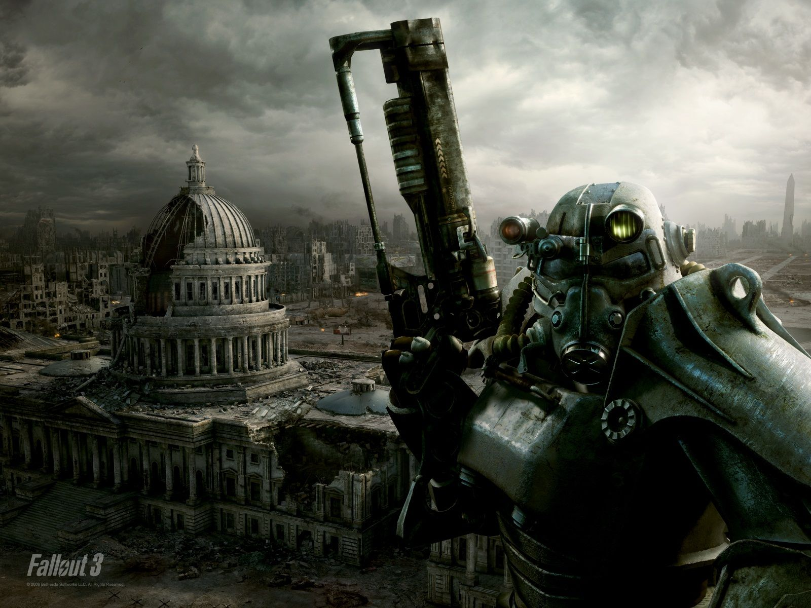 Promotional Image for Fallout 3 from Bethesda Softworks that