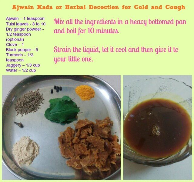 How to cure cold and cough at home for babies